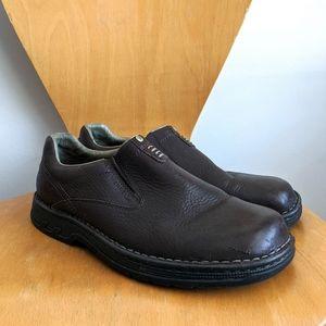 Merrell 12 World Legend Brown Slip on Loafers